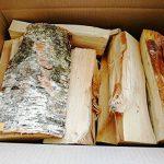 54litre Boîte de séché au four en bouleau -25cm de longueur, meilleurs journaux de bois de chauffage, facile pour l'éclairage et Gravez–Idéal pour fours à pizza, feux de camp, & Stoves de la marque Log-Delivery image 1 produit