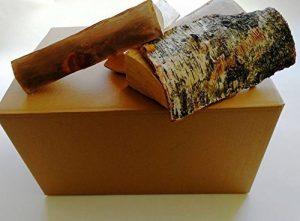 54litre Boîte de séché au four en bouleau -25cm de longueur, meilleurs journaux de bois de chauffage, facile pour l'éclairage et Gravez–Idéal pour fours à pizza, feux de camp, & Stoves de la marque Log-Delivery image 0 produit