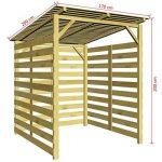 abri pour ranger le bois de chauffage TOP 12 image 2 produit
