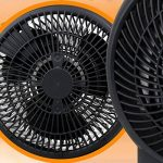 Aigostar Airwin Black 33IEL - Chauffage soufflant, radiateur et ventilateur de 2000W avec régulateur de température et de puissance. Protection contre la surchauffe. Couleur noir. Design exclusif. de la marque Aigostar image 4 produit