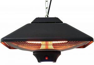 Aktobis WDH-200LS Chauffage de plafond/balcon/tente (2000W) avec lampe LED de la marque WDH image 0 produit