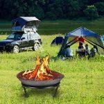 Anaelle Pandamoto Brasero de Jardin en Acier pour Barbecue Chauffage Extérieur sur Jardin, Patio, Terrasse et Camping de la marque Panana image 2 produit