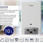 Appareil de chauffage automatique TISIRA IONO 10 litres au butane de la marque MARKES image 1 produit