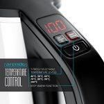 Arendo - Bouilloire Électrique Thermostat réglable   Bouilloire Inox Arrêt   Réglable Pour Bouilloire à Thé / 7 niveaux de température pouvant être sélectionnés dans une plage de 40° C - 100° C   Affichage à LED   Filtre anticalcaire intégré   1,5 litre   image 4 produit