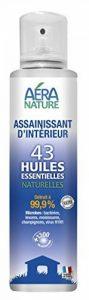 Assainissant d'intérieur, 200ml, aux 43 huiles essentielles naturelles, bactéricide, fongicide, virucide de la marque AERA NATURE image 0 produit