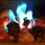 Aurora Cones Lot de 20 cônes à couleur changeante pour feu de la marque Kindlecone image 4 produit
