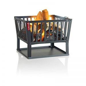 Barbecook 2239716000 Classic Barbecue à bois Acier Noir 62 x 62 x 48,5 cm de la marque Barbecook image 0 produit