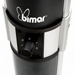 Bimar SE2000.Eu Floor 2000 W Black Quartz Electric Space Heater Electric Space Heaters (Quartz, Black, IP24, Rotary, 230 V, aluminium, Stainless Steel) de la marque Bimar image 2 produit