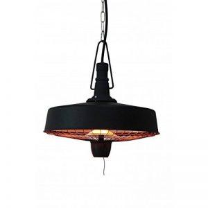 BIZZOTTO Belfast Lampe chauffante électrique, réchauffe un espace jusqu'à 4/5m2, IP 24, 220–240V, deux settaggi de chaleur 1000–2500W, acier, multicolore, 55x 55x 45cm de la marque BIZZOTTO image 0 produit