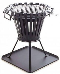 Brasero barbecue 54cm I Noir I Montage rapide I Barbecue au charbon de bois I Four, Brasero de jardin I de cheminée Brasero de la marque Profit Garden image 0 produit