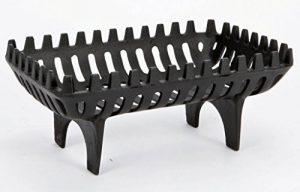 Brasero Vintage Living en fonte autonome grille bois/charbon, bûche de cheminée de la marque Vintage Living (TM) image 0 produit