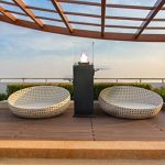 Braséro de terrasse design - Mange debout au gaz - Qogir de la marque Muztag image 2 produit