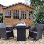 Braséro table basse de terrasse design au gaz - GUEST de la marque Muztag image 2 produit