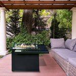 Braséro table basse de terrasse design au gaz - GUEST de la marque Muztag image 4 produit