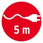 Brennenstuhl 1176920 Baladeuse en Caoutchouc IP54 5 m H07RN-F 2 x 1.0 de la marque Brennenstuhl image 4 produit