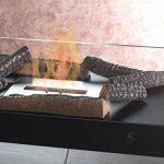 Carlo Milano Bûches de décoration: Lot de 4 bûches de décoration en céramique pour braséro à bioéthanol. (pierres de décoration pour feu) de la marque Carlo Milano image 1 produit