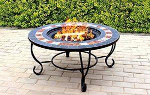 Centurion Supports Fireology Chauffage de jardin Dakota/foyer/table basse, barbecue/Seau à glace–Finition ardoise de la marque Centurion Supports image 0 produit