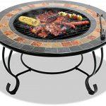 Centurion Supports Fireology Chauffage de jardin Dakota/foyer/table basse, barbecue/Seau à glace–Finition ardoise de la marque Centurion Supports image 2 produit