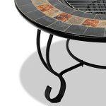 Centurion Supports Fireology Chauffage de jardin Dakota/foyer/table basse, barbecue/Seau à glace–Finition ardoise de la marque Centurion Supports image 4 produit