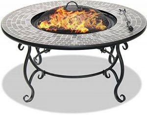 Centurion Supports Fireology Ginessa Somptueux Jardin et chauffage Patio Brasero en, table basse, barbecue et seau à glace avec mosaïque carrelage en céramique de la marque Centurion Supports image 0 produit