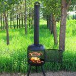 Centurion Supports Fireology Rowena moderne Jardin et terrasse Cheminée, chauffage, Foyer et barbecue de la marque Centurion Supports image 4 produit