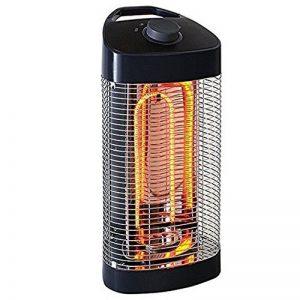 Chauffage d'Extérieur / Intérieur Oscillant 120 ° - IPX4 - 600 et 1200W - Tubes fibre de carbone. de la marque Fishtec ® image 0 produit