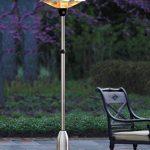 Chauffage de jardin, chauffage à poser, chauffage terrasse sur pied, chauffage extérieur électrique Hauteur Réglable - Halogène 2100W - InterougeHome de la marque interougehome image 2 produit
