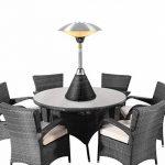 Chauffage de Table 2.1kW avec Base en Résine Tressée Firefly - Noir de la marque FireFly Heaters image 1 produit