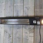 Chauffage Extérieur Elegance avec LED lampes - 1500 Watt élément chauffant - Montage plafond de la marque 2L Home and Garden image 2 produit