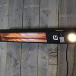 Chauffage Extérieur Elegance avec LED lampes - 1500 Watt élément chauffant - Montage plafond de la marque 2L Home and Garden image 3 produit