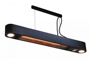 Chauffage Extérieur Elegance avec LED lampes - 1500 Watt élément chauffant - Montage plafond de la marque 2L Home and Garden image 0 produit