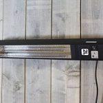 Chauffage Extérieur Elegance avec LED lampes - 1500 Watt élément chauffant - Montage plafond de la marque 2L Home and Garden image 1 produit