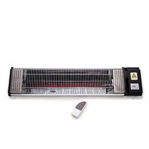 Chauffage Extérieur Électrique Mural 1500W - Thermostat Técommandé-IDEAL POUR terrasses, bars et porches. de la marque AIREL image 0 produit