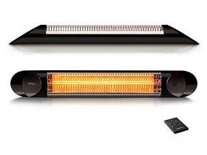 Chauffage infrarouge radiant Veito Blade Optima Noir 2500 Watt - IP55 - Télécommandé de la marque Veito image 0 produit