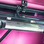 Chauffage infrarouge radiant Veito Blade Optima Noir 2500 Watt - IP55 - Télécommandé de la marque Veito image 4 produit