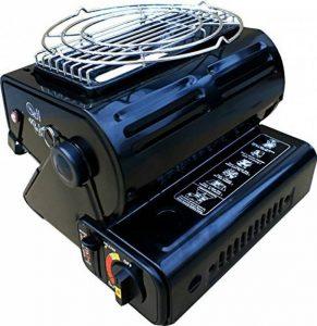 Chauffage portable de camping et cuisinière à gaz butane 2 en 1 - 1,3kW - Pêche d'extérieur de la marque NJ image 0 produit