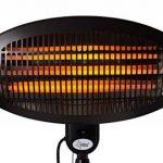 Chauffage rayonnant de terrasse KLIMATRONIC Night Sun - convient pour des volumes de max. 60 m³ (25 m²) - 3 niveaux de puissance - max. 2000 watts de la marque Suntec Wellness image 5 produit