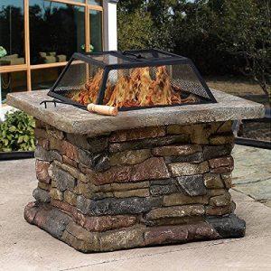 CitySales Foyer Poêle à Bois Cheminée Chauffage Barbecue Grand Carré Extérieur Jardin Patio de la marque CitySales image 0 produit