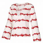 CYBERRY.M Blouse T-shirt Été Femme Manches Longues Casual Col V Mousseline de Soie Bureau Chemise de la marque CYBERRY.M image 3 produit