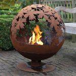# Esschert Grille de cheminée Aspect Ball 58x 58x 66cm Marron Métal Feu de camp Brasero # de la marque Esschert Design image 1 produit
