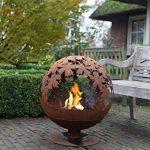 # Esschert Grille de cheminée Aspect Ball 58x 58x 66cm Marron Métal Feu de camp Brasero # de la marque Esschert Design image 2 produit