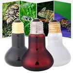 Estink Lampes de chauffage infrarouge lampe lumière ampoule pour l'utilisation d'animal de compagnie de reptiles et d'amphibiens(100W-Day Light) de la marque Estink image 2 produit