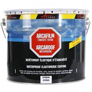 Etancheite toiture peinture résine anti infiltration tuile béton fissure membrane réparation ARCAFILM de la marque ARCANE INDUSTRIES image 0 produit