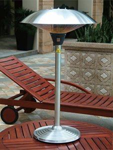 Favex 8522067 Milan Parasol Chauffant de Table Electrique Inox 60 x 60 x 106 cm de la marque Favex image 0 produit