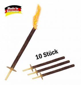 Flambeaux 45 Minutes Durée de combustion ,Nombre 10, Pâques feu de la marque Krause & Sohn image 0 produit
