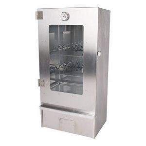 Fumoir en acier inoxydable avec vitre en verre et accessoires Modèle XL de la marque Unbekannt image 0 produit