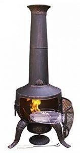 Gardeco steelchi-7-br Grand Tia Cheminée–Bronze de la marque Gardeco image 0 produit