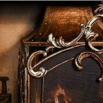 Grande Bronze antique élégant Country Manor fer 3panneaux Panneaux–Idéal pour protéger contre toute Sparks contre toute à charbon ou Feu–H 91x l 64cm de la marque Dibor image 2 produit