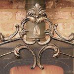 Grande Bronze antique élégant Country Manor fer 3panneaux Panneaux–Idéal pour protéger contre toute Sparks contre toute à charbon ou Feu–H 91x l 64cm de la marque Dibor image 3 produit