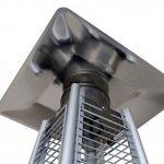 GREADEN Lynco - Chauffage d'extérieur à gaz, pyramide - Inox puissance réglable de 5 à 13 KW - LC-199961 de la marque GREADEN image 2 produit